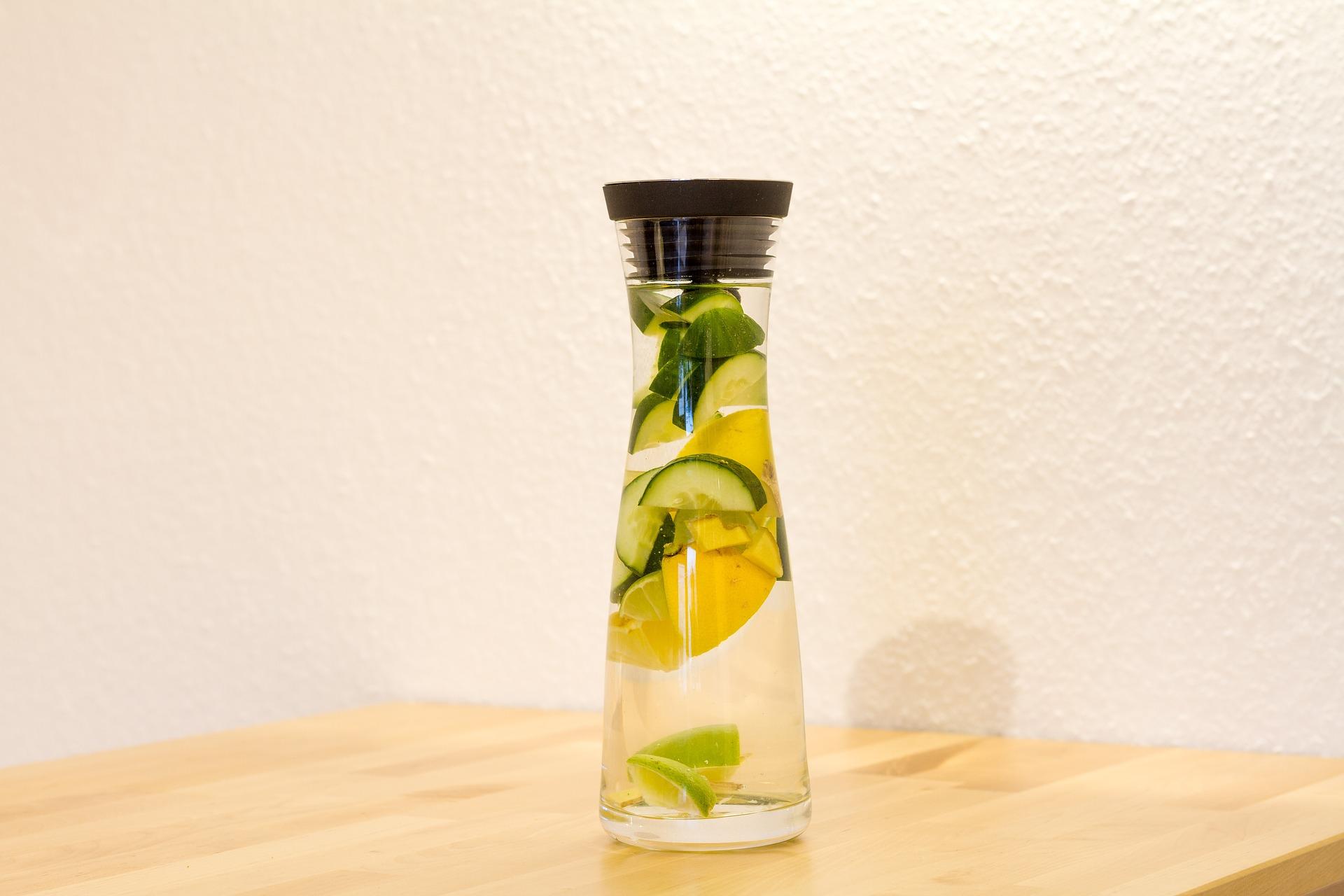 Detox Water Health Benefits- Instacuppa Green Tea Detox Bottle