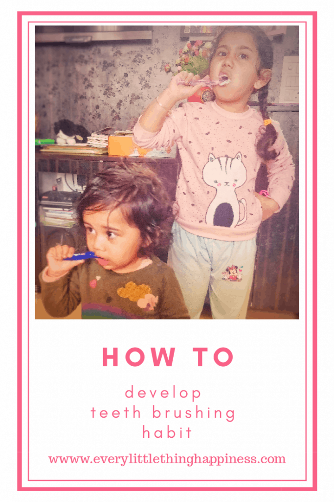 How to Develop a Habit of Brushing Teeth in Kids