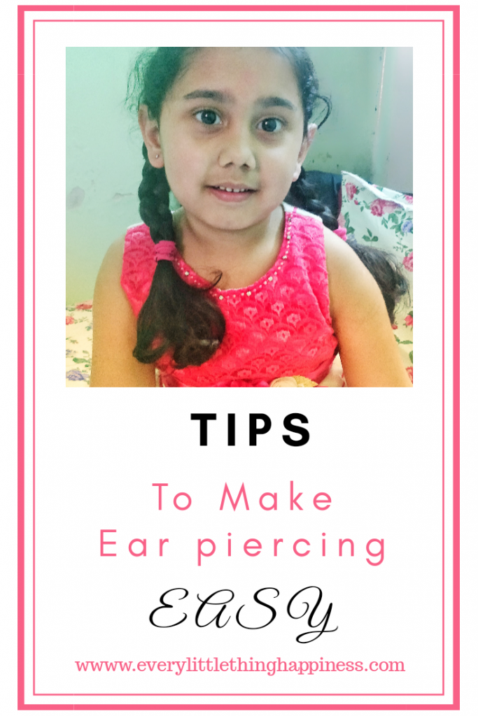 How To Make Ear Piercing Easy For Your Child