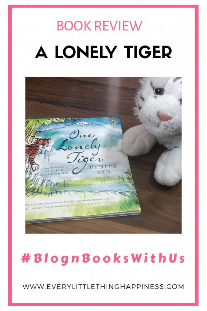 Book Review - One Lonely Tiger
