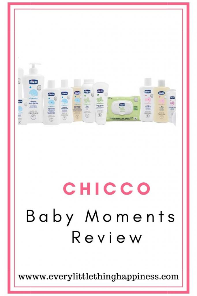 CHICCO BABY MOMENTS  - REVIEW